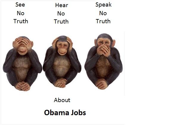 ObamaJobsSpeakNoTruth