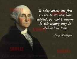 GeorgeWashingtonSlavery